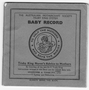 truby king  baby record 1940's
